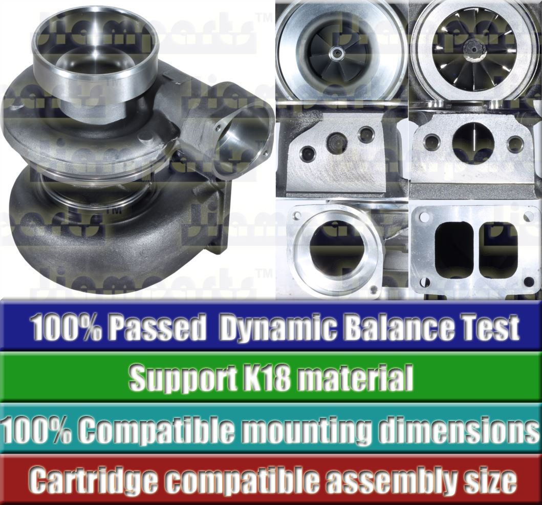 Description image:Turbocharger S4DS006 196547