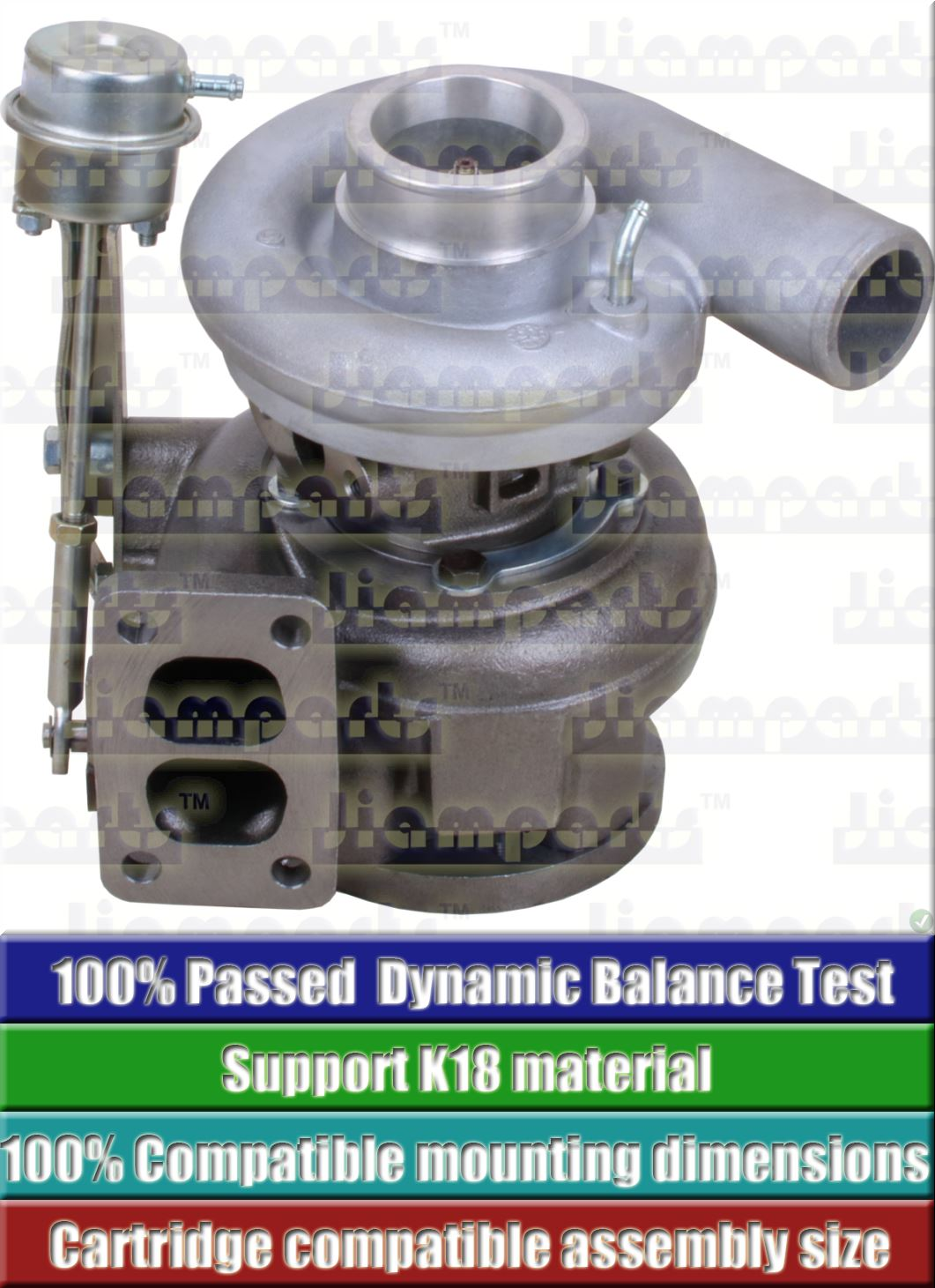 Description image:Turbocharger S2BG 315644