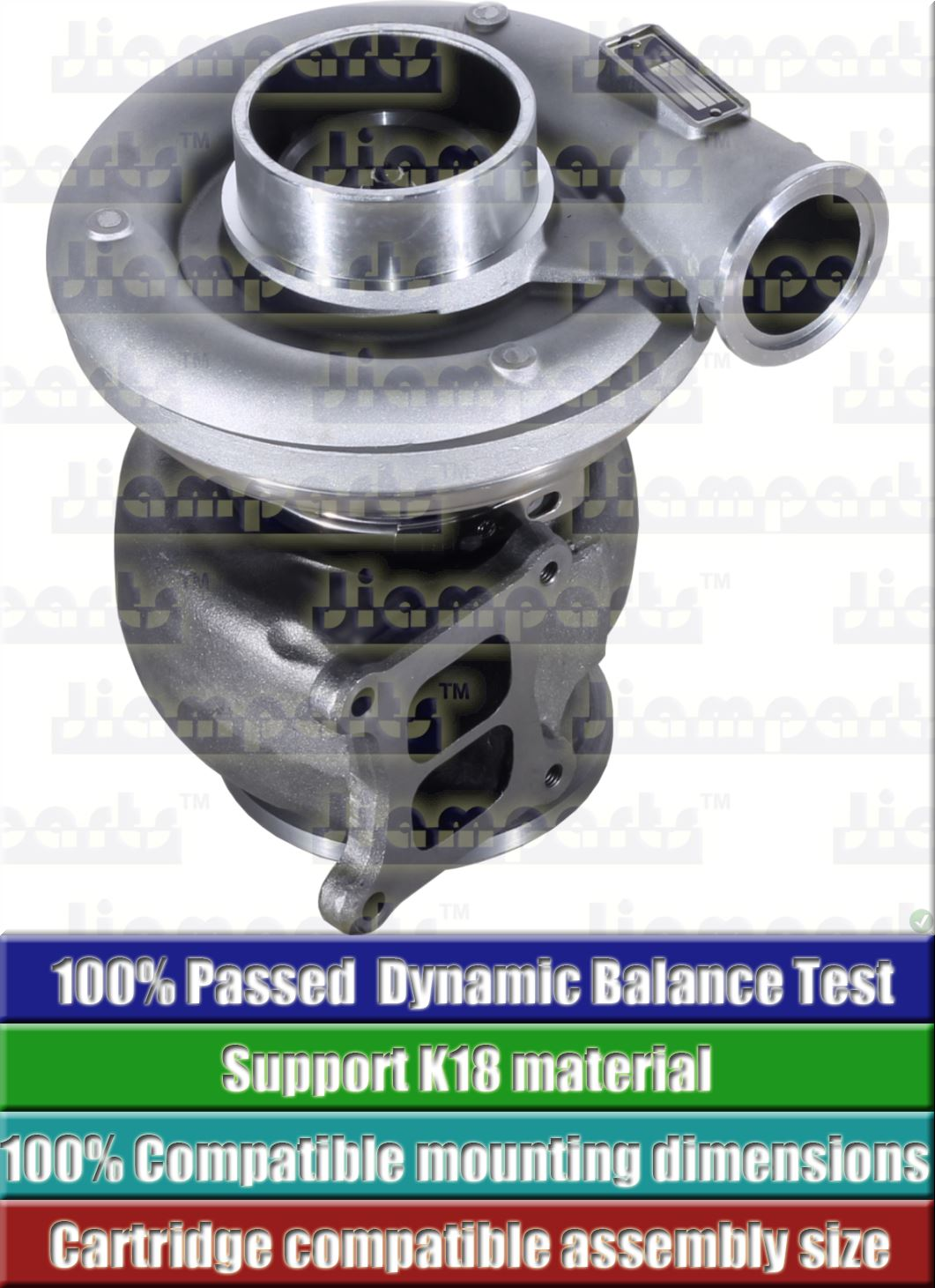 Description image:Turbocharger HX55 3590044