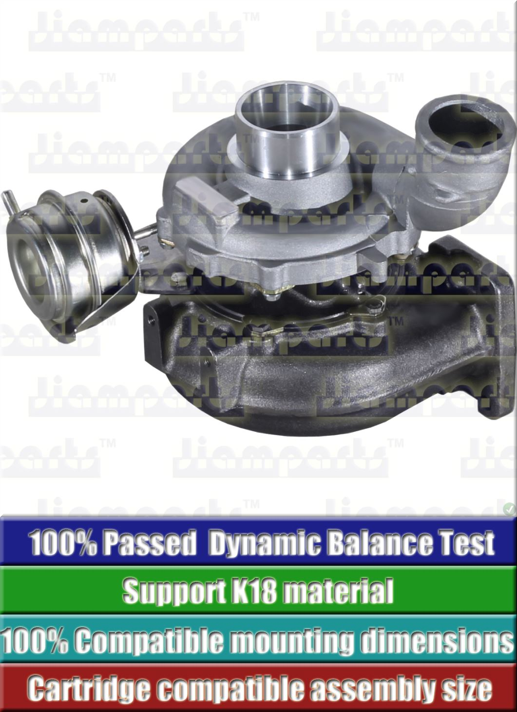 Description image:Turbocharger GT2052V 454135-0003
