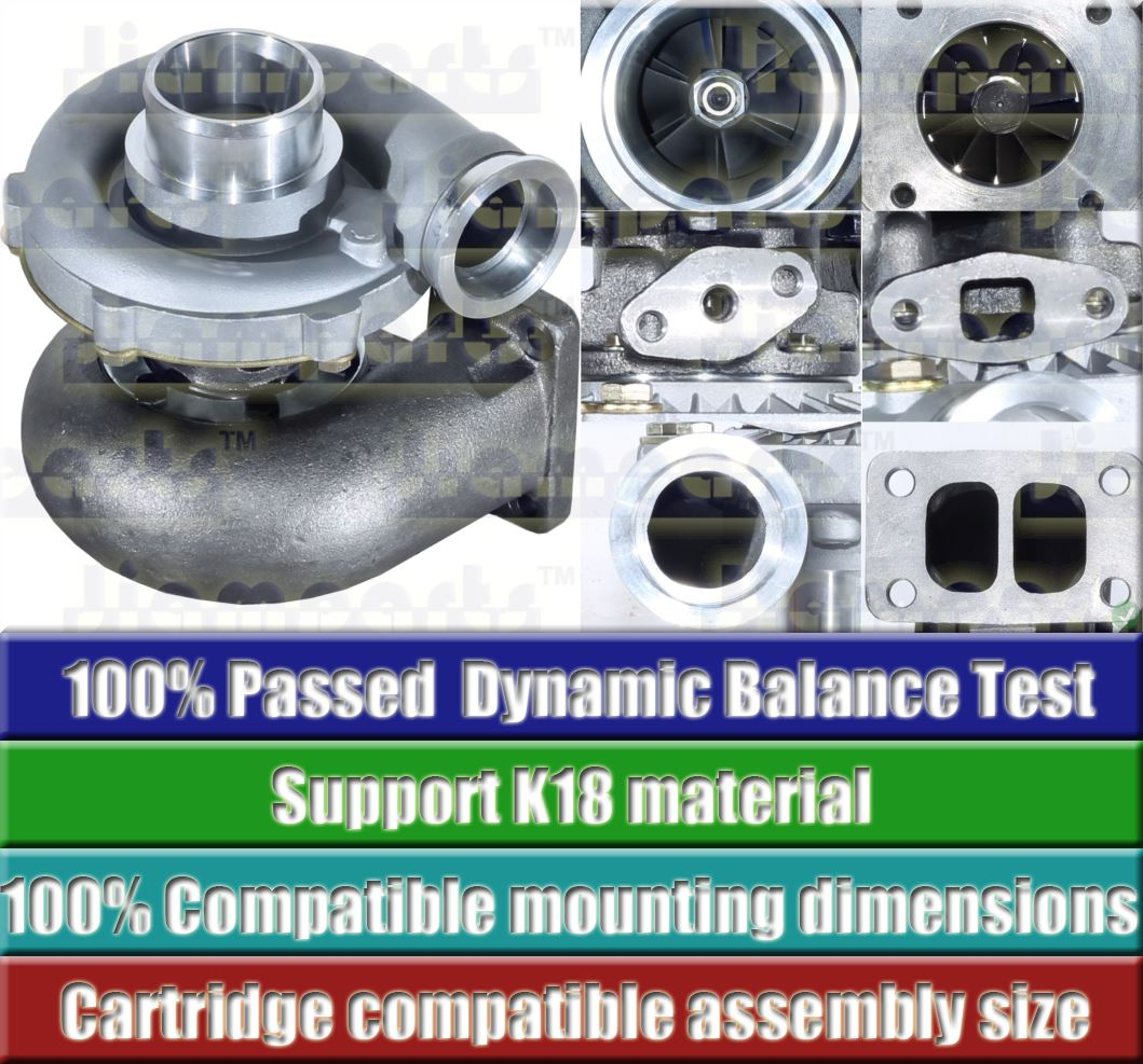 Description image:Turbocharger TO4E66 466646-0041