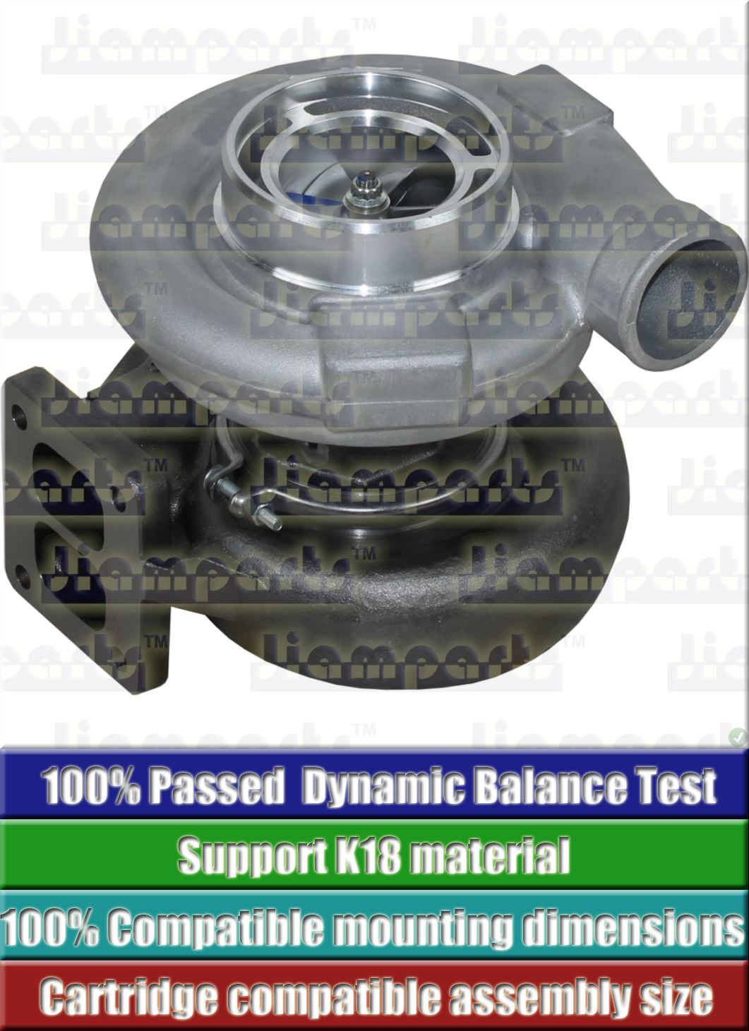 Description image:Turbocharger TD08H-31M 49188-01831