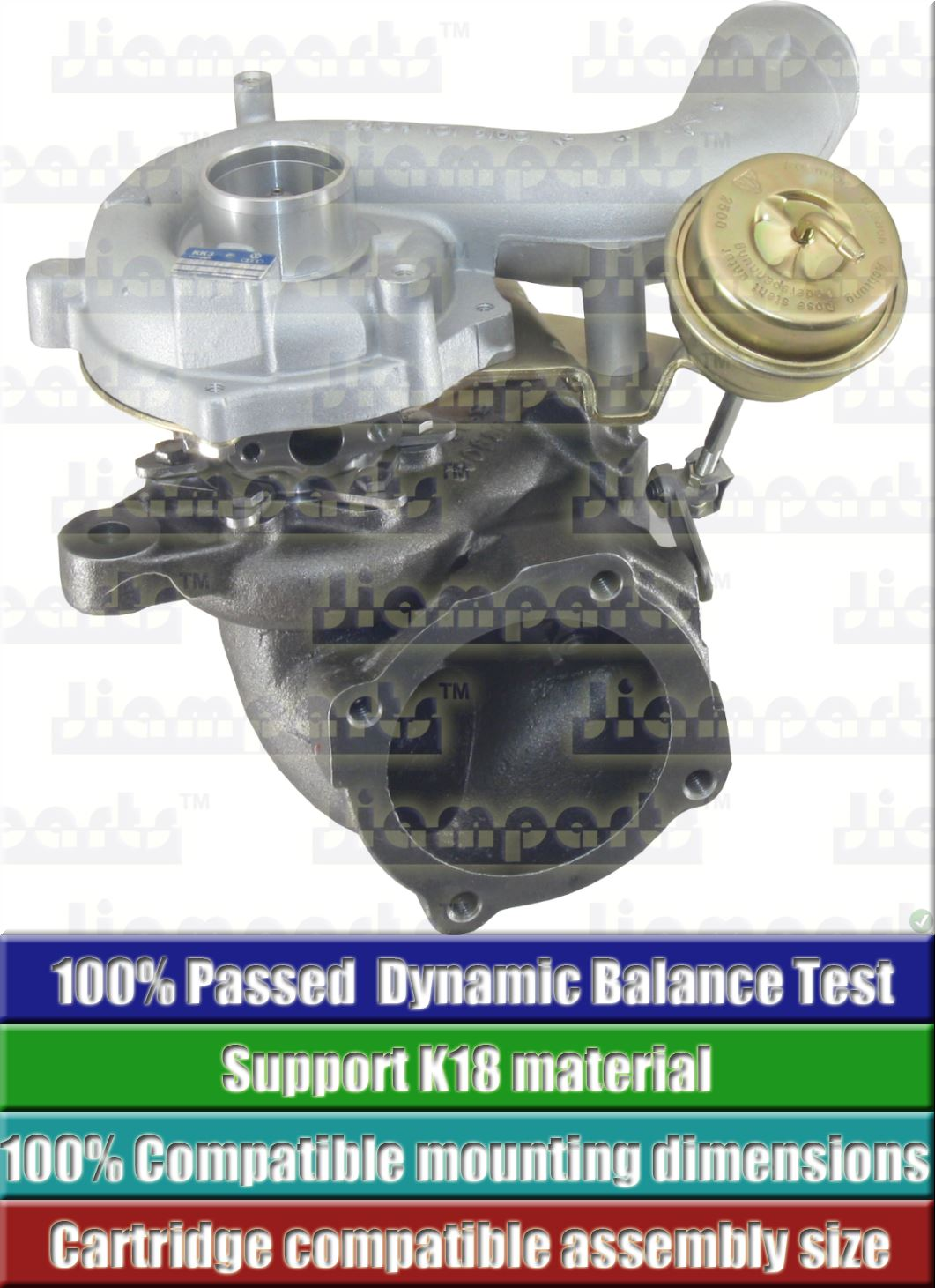 Description image:Turbocharger K03-2075EXD 5 88 5303-988-0053
